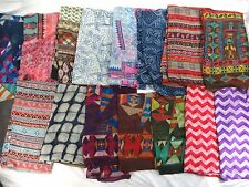 [US seller] lot of 10 vintage retro boho large scarf urban clothing wholesale