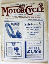 1st Edition Motor Cycle Magazines in English