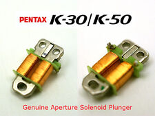 Pentax K-30 K-50 Genuine Aperture Solenoid Plunger Part fix dark picture