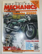 Motorcycle Mechanics Magazine Yamaha XS650 BSA A65 September 1994 012715R