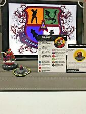 Heroclix Batman the Animated Series Super Rare Joker 054 with Present Object