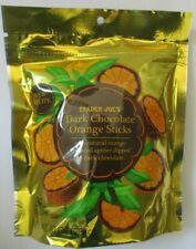 TRADER JOE'S DARK CHOCOLATE ORANGE STICKS 10-OZ - 10 PACKS