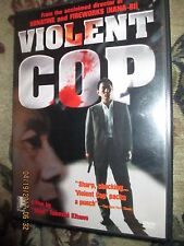 Takeshi Kitano's Violent Cop (DVD, 1999, Violent Cover) OOP