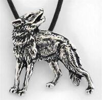 Wolf Naomi Anhänger Silber Gothic Schmuck - NEU
