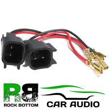 FORD TRANSIT KA FOCUS FIESTA C MAX MONDEO Car Speaker Wire Wiring Adaptor Leads