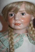 hochwertige Porzellan  Hildegard Günzel RARE Poppy Doll Limit. Edition Gunzel