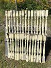 30 Antique Porch Balusters ~ Wood, C.1910 Portland, ME Architectural Elements