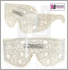 c0787564f2 LINDA FARROW KTZ Mask Crystal White Ivory Filigree KTZ4 Fashion Accessory