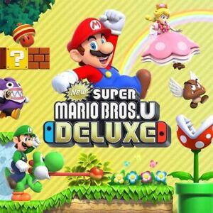 New Super Mario Bros U Deluxe - Jeu Nintendo Switch - Lire description