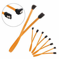5 x Serial SATA ATA RAID DATA HDD Hard Drive Signal Cable Straight-Right Angle