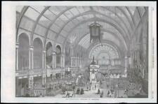 1869 Antique Print - HOLLAND AMSTERDAM INTERNATIONAL EXHIBITION (023)