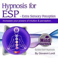 HYPNOSIS FOR ESP - EXTRA SENSORY PERCEPTION (CD) GIOVANNI LORDI