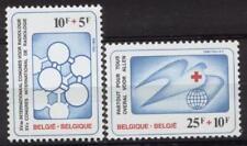 Belgium**RED CROSS-RADIOLOGY-X-RAYS-MEDECINE-2vals-1981-CROIX ROUGE-ROOD KRUIS