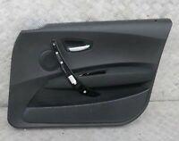 BMW 1 Serie E87 Anteriore Destro/S Interno Porta Scheda Pannello Orlo Nero