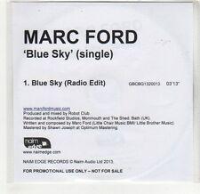 (GF798) Marc Ford, Blue sky - 2013 DJ CD