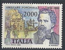 1986 ITALIA PONCHIELLI MNH ** - ED