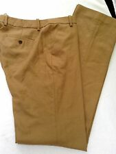 J CREW NWT 8T Favorite Fit Stovepipe Trouser Tan 100% Wool Flannel Pants $138