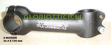 X-MISSION ATTACCO MANUBRIO  25.4 X 1 1/8 LUNG. 120 MM.