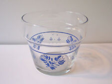 Vintage Pfaltzgraff Yorktowne Glass Planter Flower Pot USA Glassware HTF