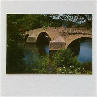 Menat Puy-de-Dome The bridge over Sioule Postcard (P349)