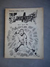 THE COMIC ARTIST FEATURING WALLACE WOOD VOL 1 N°3 1970 FANZINE VO BE / GOOD