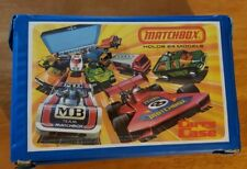 Lot-Vintage Lesney 1976 Matchbox 24 Car Carry Case With 25 Diecast Cars/Trucks