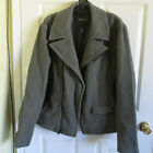 Size L Marc by Marc Jacobs Wool Green Motorcycle Men's Jacket $695