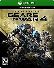 Gears of War 4: Exclusive (Microsoft Xbox One, 2016) w/ Four Bonus Games & Skin!
