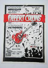 Albert Collins Legendary Blues Guitarist 1973 Original Concert Poster