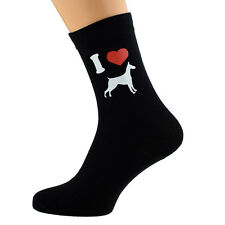 Me encanta Dobermans Diseño Calcetines para hombre Doberman dueños de perros UK Size 5-12 X6N084