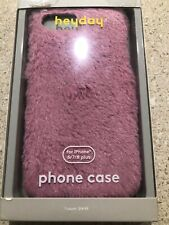 Heyday Apple iPhone 6/7/8 Plus Furry Case- Pink