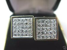 Fine Dice Diamond Yellow Gold Earrings Yellow Gold 14KT 1.14Ct