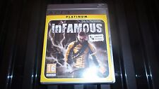PS3 Juego Infamous.
