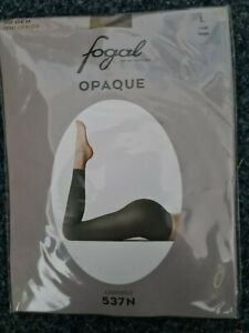Fogal Semi Opaque Damen Legging, Halbtransparent 30 Den Fogal Bund Taube Gr. L
