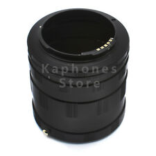 AF Confirm Macro Lens Extension 3 Ring Tubes For Sony Alpha Minolta MA
