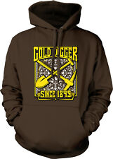 Gold Digger Since 1849 Rich Trophy Shovel Pick Digging Bling A Hoodie Sweatshirt