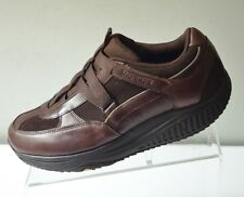 Skechers Shape Ups XW Hydro Strap Shoes Dark Brown Leather
