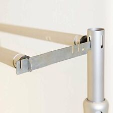 3x Double Drape Crossbar Hangers for Pipe and Drape Systems