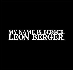 Leonberger Dog Name Auto Aufkleber Hundeaufkleber Folie Leo Gentle Lion Hund