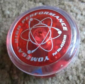 Vintage 90s Red Yomega High Performance Yoyo Yo-yo Retro