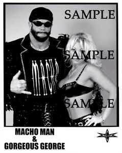 Randy savage gorgeous george wcw wrestlers wrestling lot photos pictures + The u