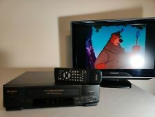 New listing Quasar Vcr/Vhs Player Recorder Vhq660 4-Head Hi-Fi Stereo Tested with Remote