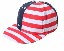 American FLAG USA baseball cap Stars and Stripes Americana Navy Red NEW