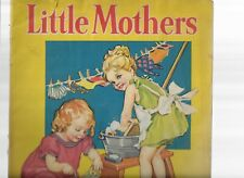 LITTLE MOTHERS LINEN BOOK, MERRILL PUBLISHING 1936-NUMBER 3412