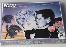 (PRL) PUZZLE 2000 PEZZI PIECES AFFETTO LOVE LES AMOUREUX VERLIEBT SCHMIDT '80s