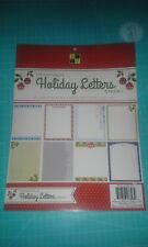 Die Cuts with a View 8 1/2 x 11 Printable Holiday Letters stack 120 sheets DCWV