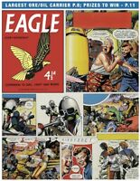 Original Artwork by Frank Hampson. The Ship that Lived from Eagle 9/11/1958