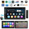 "7.0"" 2Din Car Radio MP5 Player 1080P Rearview Camera Audio Android iPhone Mirror"