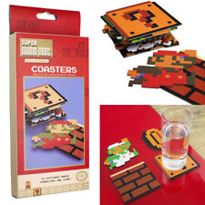 Super mario bros. 20 different coasters with all 131354 characters new