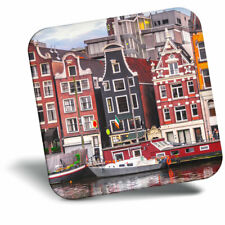 Awesome Fridge Magnet - River Amstel Amsterdam Netherlands Cool Gift #16600